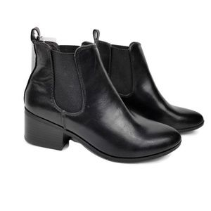 A New Day Ellie Chelsea Faux Leather Booties